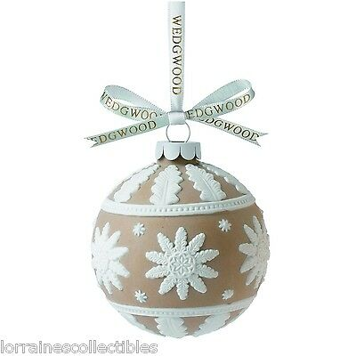 Wedgwood 2013 Christmas Tree Neoclassical Ball  NEW IN THE BOX