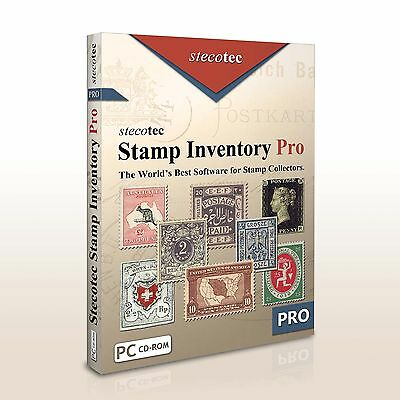 Stamp Inventory Pro: Software for Your Collection | e.g. Penny Black Kiloware GB