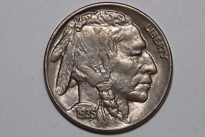 Grades Mint State 1935 P Buffalo Nickel .05C ~FREE Shipping (BNX521)