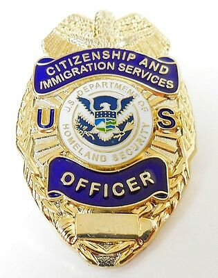 Citizenship and Immigration Services Officer Badge Lapel Pin