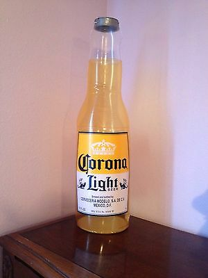Corona Light Beer Inflatable Hanging Bottle Sign New!! Man Cave Tiki Bar Beach