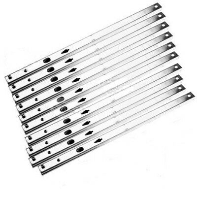 5 PAIRS Metal ball bearing drawer runners / slides - 17mm x 280mm