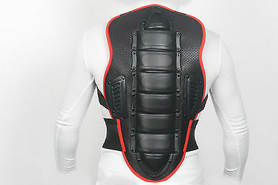 Motorcycle Motorbike Motocross Back Protector Body Armour Back Spine Protector A