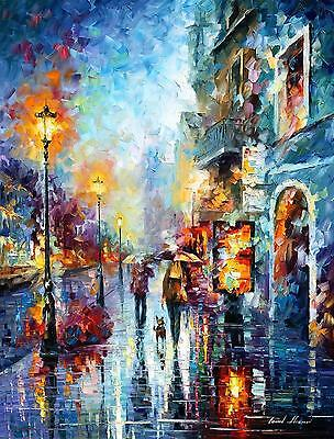"""MELODY OF PASSION  —  Oil Painting On Canvas By Leonid Afremov - Size:30""""x40"""""""
