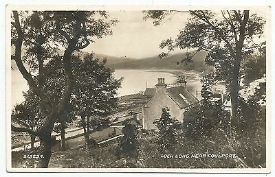 POSTCARD-SCOTLAND-COULPORT-RP. Loch Long, near Coulport.