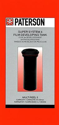 Paterson Super System 4 Film Developing Tank : 5 X Multi Reel : Excluding Reels