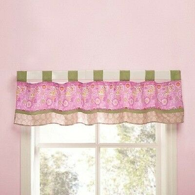 Kidsline Blossom Tails Crib Bedding Collection Window Valance