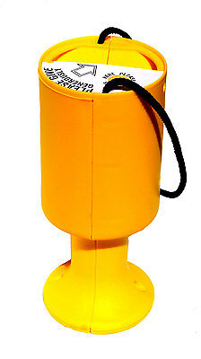 Yellow Charity Money Collection Box Tin for Collecting Fundraising Donations