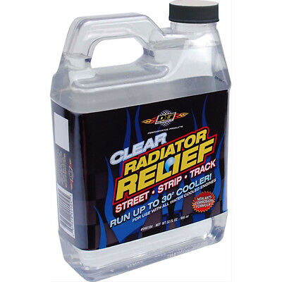 DEI 040104 Radiator Relief Coolant Additive - Clear - 32 oz Up to 30 Degree Drop