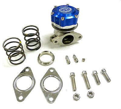 Maximizer 7Psi to 25Psi Compact Wastegate Blue 38mm external wastegate 38 mm