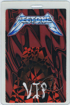 DEFTONES 1998 Laminated Backstage Pass