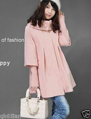 New fashion winter woolen thicken long sleeve coat jacket for pregnant wome