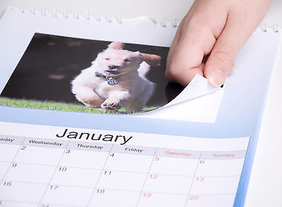 "Make Your Own 2018 Personalised A4 Calendar With Your 6X4"" Photo Prints"