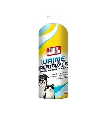 Simple Solution Dog Urine Destroyer for Dogs - 32 oz - permanently removes