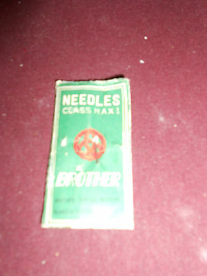VINTAGE SWEING MACHINE NEEDLES FOR CLASS H A X 1 BROTHER SEWING MACHINE 2 LEFT
