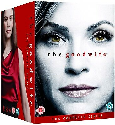 THE GOOD WIFE 1-7 (2009-2016) COMPLETE TV Drama Seasons Series NEW R2 DVD not US