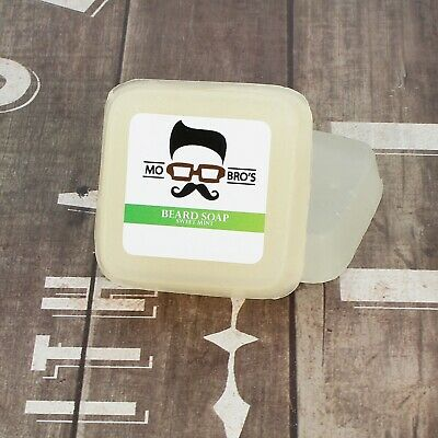 Mo Bro's - Mint Scented Premium Beard & Skin Soap, Conditioner & Wash 80g