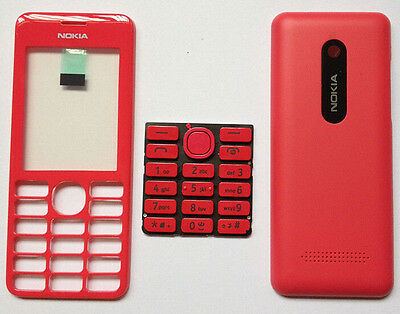 High quality full housing front back frame cover keypad for Nokia 2060 Red