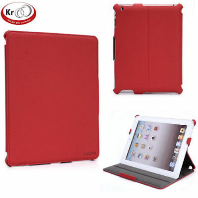 iPad 2/3/4/Retina Protective Folio Case with Kickstand and Sleep Wake Feature