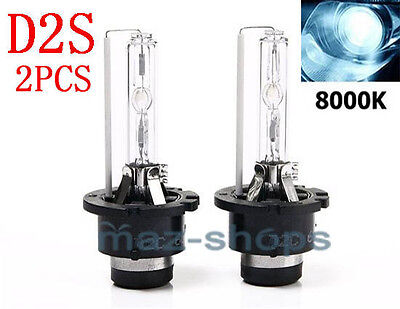 D2S 8000K AC Light OEM HID Headlight Light Bulbs 2Pcs Fit for 07-09 VW Golf GTi