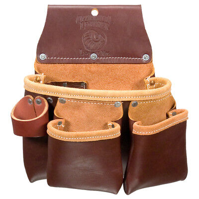 Occidental Leather 5017DBLH 2 Pouch Pro Tool Fastener Organizer Bag - Left Hand