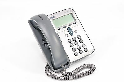 Cisco Systems Unified VOIP Office Business Phone 7 Series CP-7912G w/ Stand