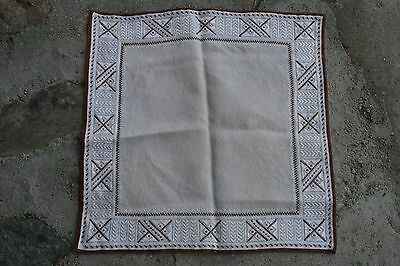 Vintage Handmade Tablecloth Embrodery 51