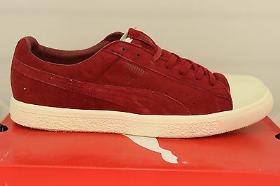 8fb7dbe3e66c Men s Puma Clyde X Undefeated Coverblock 35277801 Rio Red Whisper White New