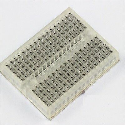 2PCS Solderless Prototype Breadboard 170 SYB-170 Tie-points Transparent
