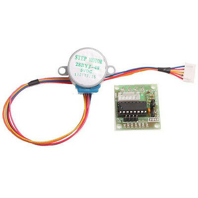 5pcs DC 5V Stepper Motor + ULN2003 Driver Test Module Board 28BYJ-48 for Arduino