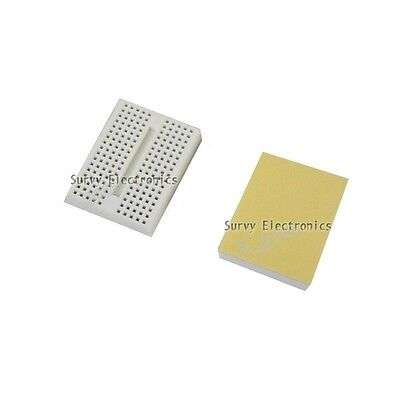 2pcs White Solderless Prototype Breadboard SYB-170 Tie-points for Arduino new