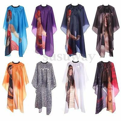 Adult Salon Hair Cutting Hairdressing Barbers Cape Gown Waterproof Robe Clothes
