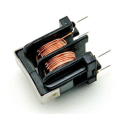 5pcs UU10.5 Common-mode inductor filter 10MH Wire diameter 0.5MM NEW