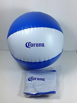 2 Corona Extra Beer Inflatable Beach Ball Sign Party Pool Blow Up New!!