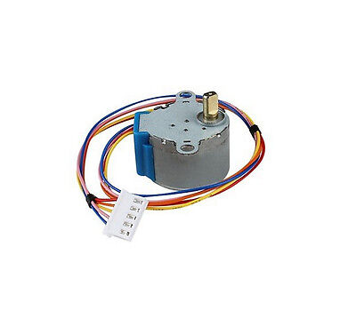 5pcs 28BYJ-48 Valve Gear Stepper Motor DC 12V 4 Phase Step Motor Reduction