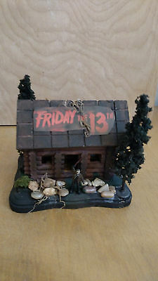 Friday the 13th Jason and Camp Crystal Lake Diorama