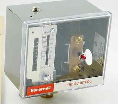 Honeywell L4079B1041 Pressuretrol Breaks On Pressure Rise 10-150Psi Manual Reset