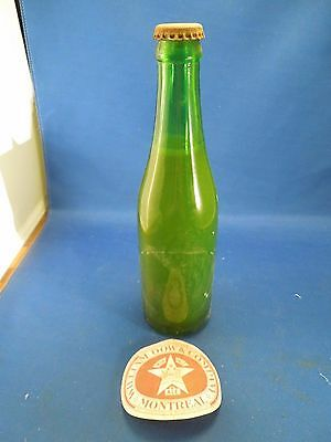 Vintage William Dow & Company Glass Beer Bottle Montreal India Pale Ale #2