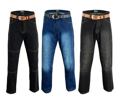 """Motorbike Denim Jeans Ce Armours Protective Lining Safety Pant Trousers Size 50"""""""