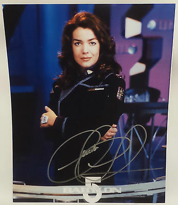 Babylon 5 : Signed Susan Ivanova Photograph By Claudia Christian Version 2