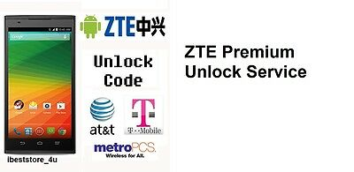 ZTE WORLDWIDE UNLOCK Code Unlock code for ZTE Zmax (T-Mobile) Z970 Metro PCS