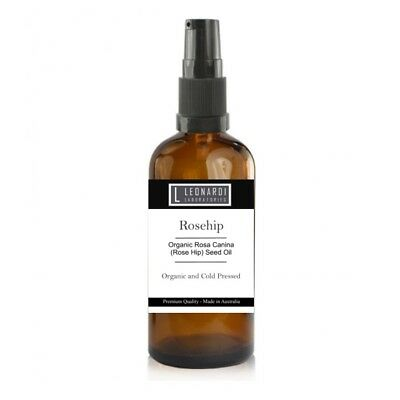 ROSEHIP OIL - 100% ORGANIC - WITH SERUM PUMP 50ml