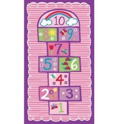 New Children's Mats Baby Rug Kids HOPSCOTCH Play RUGS Floor Mat 100cm x 150cm