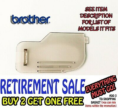 Sewing Machine Brother Slide Plate/bobbin Cover Fits Innovis Xl Bc Ds Fc Cs Etc