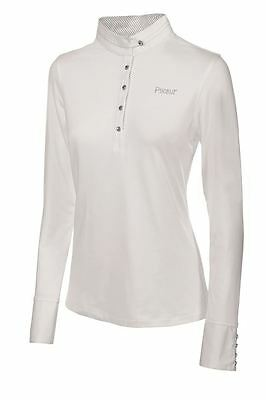 Pikeur Long Sleeved White Competition Stock Shirt
