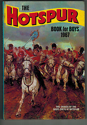 HOTSPUR BOOK FOR BOYS 1967 from Hotspur Comic