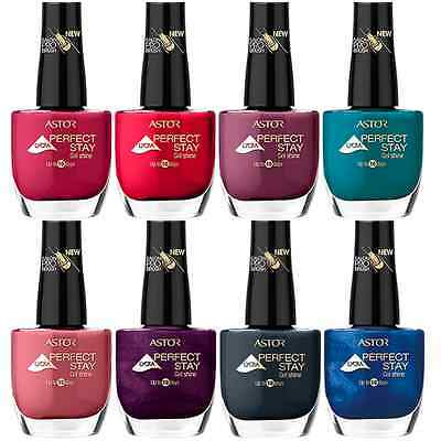 Astor Lacque Deluxe Lycra Nail Polish / Varnish ****choose Colour****