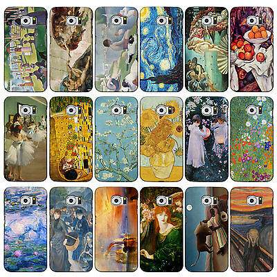 Classic Art Collection Cases for Galaxy Range. 3DP Famous Artist Painting Covers