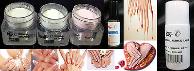 Professional Nail Acrylic Powder / Liquid / Primer Krazy Girl *choosetype*