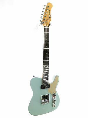 Effin Guitars OldSmelly/SONIC Vintage Sonic Blue Finish Deluxe Electric Guitar